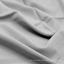 100% Baumwolle Bekleidung Stoff von Ramie Look