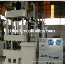 4 column hand operated hydraulic press
