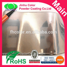 Highly decorative powder chrome paint