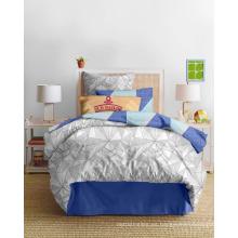 Vogue Geometry 100% microfibra cama conjunto con la impresión, 250 de ancho, 120gsm