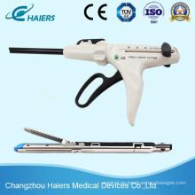 Instrumentos de grapadora laparoscópica lineales Endo de Disaposable