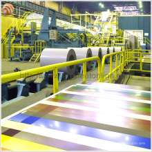 Aluzinc Coating Prepainted Color Steel Coil (PPGL PPGI GI GL)
