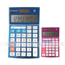 Calculadora de escritorio de doble dígito de 12 dígitos con función impositiva opcional (LC22639)