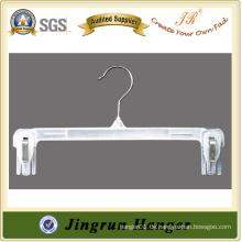 Transparente weiße Kunststoff PP Hanger für Hosen