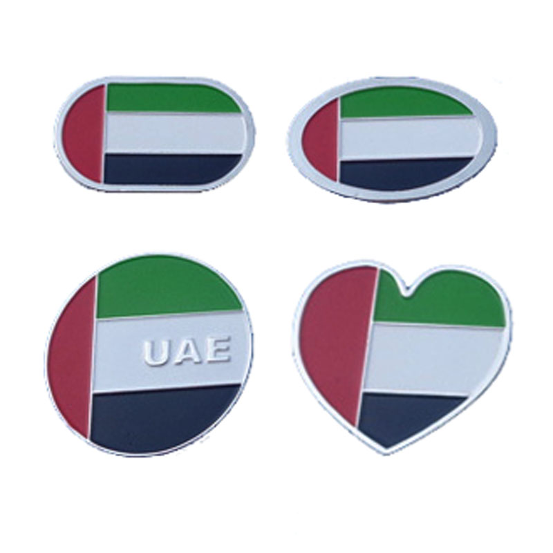 Dubai Metal Gift Uae Flag Pin
