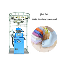 rainbowe ce certification automatic five toes plain socks hosiery knitting machine price