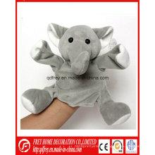 Hot Sale Plush Elephant Hand Puppet Elephant Toy