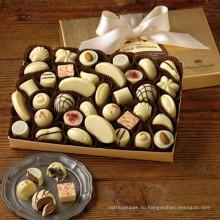 Коробка конфет DIY с пищевой коричневый бумажный