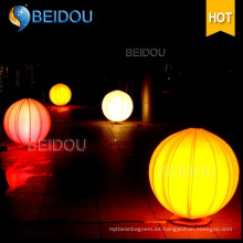 Personalizado Globo gigante de publicidad inflable trípode tierra colgando de globos LED