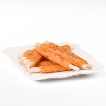 chicken wrapped rawhide pet treats dog chew snacks