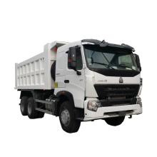 Original China heavy truck Howo Euro 2 emission standard truck dimensions Sinotruck dump/tipper truck price