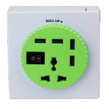 4 Ports USB 2.0 Hub with Power Charging and Data Sync