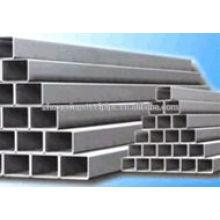 tubo quadrado de aço de carbono