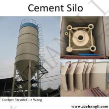 Tonelada de Silo de Cimento de Aço para Usina de Betão (material a granel)