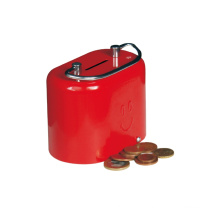 High Quality Kids Toys Coin Collecting Metal Material Coin Box