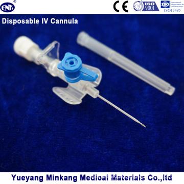 Cápsula intravenosa desechable IV / Catéter IV 22g