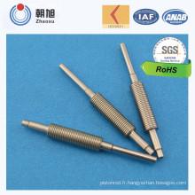 Axe cannelé par axe d'ajustement de taille d'usine d'OIN avec l'approbation de qualité du niveau 3 de Ppap