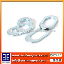 Ringförmige Ellipsenform Neodymmagnet für Verkauf / Gewohnheit hohle heraus Seltenerdmagneten