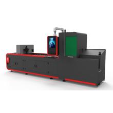 Metal tube fiber laser cutting machine
