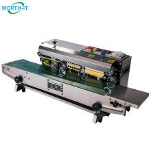 Horizontal Sealing Machine Band Sealer Machine High Quality Continuous Band Sealer Plastic 32℉ - 572℉ within 6kg Unlimited
