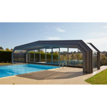 Couverture de piscine en polycarbonate