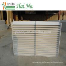 Fabricante de Demister de agua para purificación de aire