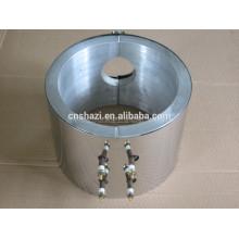 electric liquid cooled aluminum cast in heater