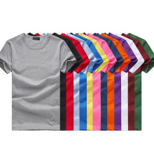 Venta al por mayor 2017 hombres Plain T-Shirts Algodón cuello redondo Cheap T-Shirts
