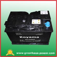 Bateria da bateria da pilha seca de 652-12V66ah auto