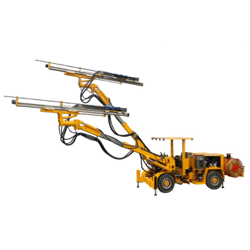Perforadora de voladura hidráulica completa de doble brazo