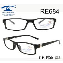 Popular diseño de calidad superior de bisagra gafas de lectura (RE684)