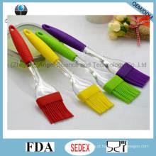 Escova de silicone transparente para churrasco escova de pão de silicone para férias sb06