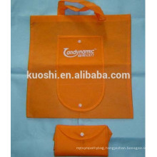 Foldable polyester shopping bags with logo