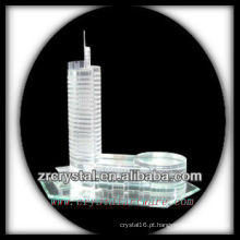 Modelo de construção de cristal maravilhoso H031