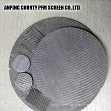 Disco de filtro laminado de filtro de água de malha de arame sinterizado