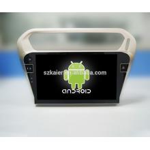 ¡Fábrica directamente! ¡Toque lleno sin reproductor de DVD del coche del androide del dvd + 1024 * 600 para Peugeot 301 + OEM + quad core!