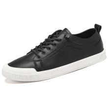 2021 slip-on com sapatos masculinos redondos de linóleo de renda