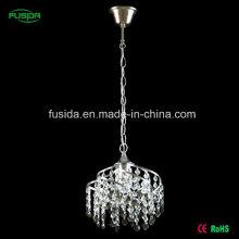 Высокое качество кристалла железа E27 подвеска освещения для отеля / дома / спальни