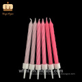 Exceptional Quality Party Occasion PINK Ombre Spiral Birthday Candles Bulk