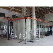 линия автоматической электростатических металлическое покрытие