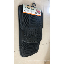Heavy Duty 4Pc Front & Rear Rubber Floor Mats for Car SUV Van & Truck - All Weather Protection Universal Fit