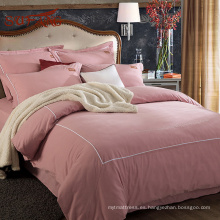 Ropa de cama de lino rosa 100% pura ins Korean Korean Line de Gold Sufang