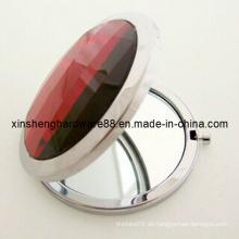 Rhinestone-Metall-Kompaktspiegel (XS-M0102)