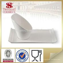 Завод прямые продажи неправильной формы салатник печатных керамический комплект шара салата