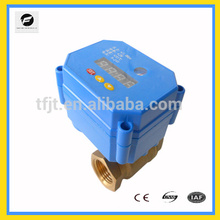 Timer control electrical motorized ball valve DC9/24V for Irrigation system plumbing system Environmental Protection