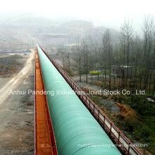 Anti-Rain Inclined Trough Belt Conveyor/Conventional Belt Conveyor System