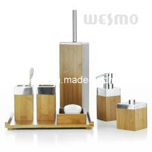 Бамбуковая ванна с металлическим верхом (WBB0304A)