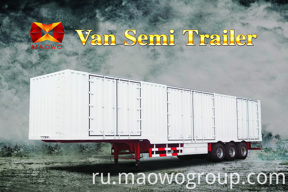 van semi trailer