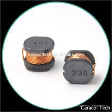 Inductor de potencia de núcleo de ferrita SMD de montaje en superficie 470uh