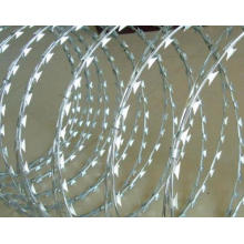 Razor Barbed Wire in China Manufacture